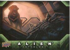 Upper Deck Alien Anthology Silver Stamped Parallel Base Card #53