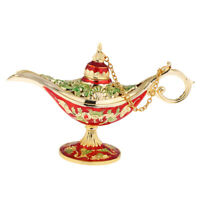 Collectable Saving Lamp Oil Lamp Stand Magic Genie Light Wish Pot #B