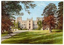 Castillo Mulgrave, cerca de Whitby, Yorkshire-Asiento del Marqués de Normanby-c1865