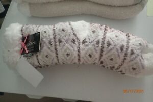 Cuddl Duds Faux Sherpa Cozy Lined Socks Sold Separately Combined Shipping