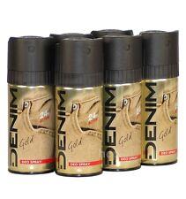 DENIM Deodorant / Bodyspray GOLD im 6er Vorratspack, 6 x150ml (100ml=1,77)
