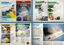 Schuco Experimentiertechnik u Kosmos Experimentierkästen 1988 - 1990 Chemie Bio