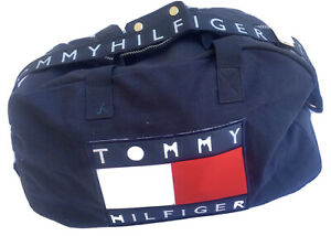 Tommy hilfiger duffle bag/gym bag Spell our canvas