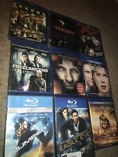 🔥9 Blu Ray Lot Taken Fakers Sin City Freelancers The Rite Jumper Immortals &&&