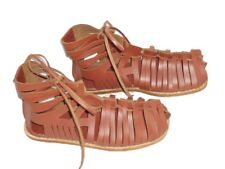 Roman Leather Brown Caligae Sandals Armour 174-Leaa