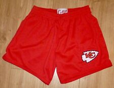 """Nfl-Kansas City Chiefs-Sports/Gym Shorts-Red-Embroidered-32 """"Waist-New"""