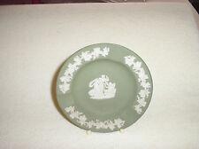 Wedgwood green Jasper ware small ashtray