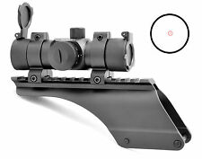 Hammers Slug Gun Shotgun Red Dot Sight and Scope Mount Kit 12GA 870 1100 1187