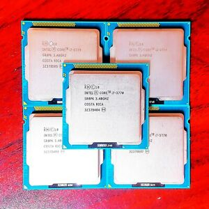 Intel Core i7-3770 3.40GHz 8MB Quad Core Socket LGA1155 CPU Processor SR0PK US