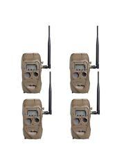 New (4) Cuddeback CuddeLink Long Range IR Infrared 20MP Game Trail Camera J-1415