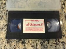 LA CALZONUDA II 2 RARE OOP CINE REAL VHS TAPE 1986 SPANISH ACTION DRAMA HTF!