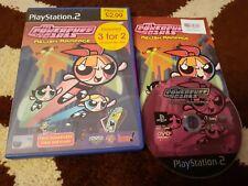 Las Chicas Superpoderosas condimento Rampage Playstation 2 PS2 juego de niños