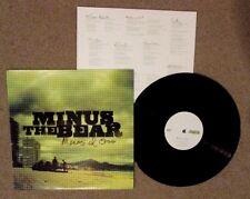 POST ROCK MENOS EL OSO MINUS THE BEAR LP RECORD EXCELLENT