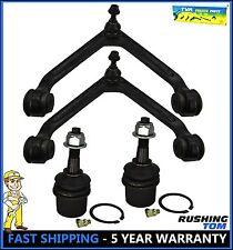04-06 Dodge Durango Chrysler 4 Pc Kit Front Upper Control Arm & Lower Ball Joint