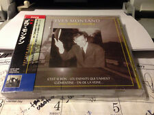 YVES MONTAND - LES FEUILLES MORTES (JAPAN IMPORT CD+OBI, Joker international)
