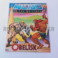 MOTU He-Man Masters of The Universe - Mini Comic - The Obelisk (Promo)