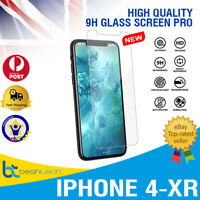 9H Tempered Oleophobic Glass Screen Protector Guard For iPhone X 8 7 5 6 6Plus