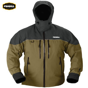 Frabill F3 Gale Jacket (S)- Brown