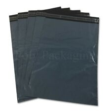 "GREY Mailing Bags 9x12""(230x300mm)Royal Mail LARGE LETTER Size A4 Value Any Qty"