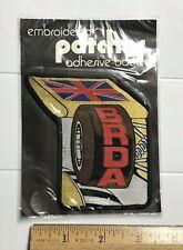 BRDA British Rallycross Championship Auto Racing Adhesive Backed Round Patch