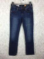 Pilcro and The Letterpress Straight Leg Jeans Sz 25 Anthropologie