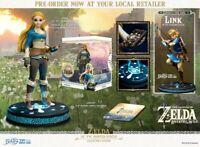 """The Legend of Zelda - Zelda Breath of the Wild Vinyl 10"""" Statue Collector's E..."""