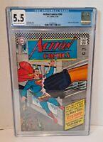 """DC Action Comics Vol 343 Nov 1966 Superman """"Eterno"""" Gigantic Immortal!"""" CGC 5.5"""