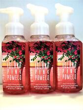 Bath Body Works Pink Pomelo Gentle Foaming Hand Soap, 8.75 fl. oz., New, x 3