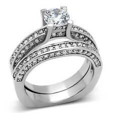 Markenlose Modeschmuck-Ringe im Verlobung-Stil aus Edelstahl