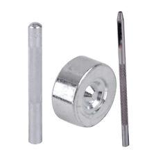 11x Die Punch Loch Werkzeug Nieten Install Tool Rivet Setter Rund Dock Craft NEU