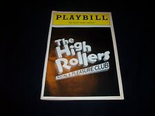 Vintage Playbill - THE HIGH ROLLERS - VIVIAN REED - TICKET STUB - FLOP - RARE