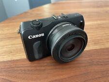 Canon EOS M + EF-M 22mm F2 STM Lens + Hoya Lens Filter