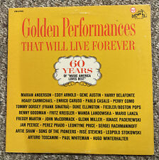 New listing Golden Performances That Will Live Forever 2 Record Set RCA CM-0700 GC
