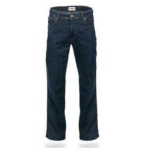 Wrangler Texas Stretch Blue Black W12175001 Herren Jeans Hose in allen Größen