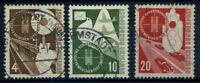 Germania 1953 Mi. 167-169 Usato 100% Mostra Trasporti