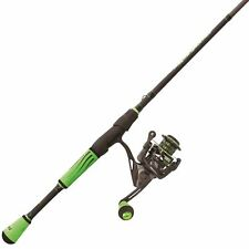 """Lew's Mach II Speed Spin Combo w/ 6'9"""" Medium Rod and 6.2:1 Ratio Spinning Reel"""