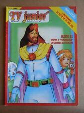 TV JUNIOR n°9  1983 Nils Holgersson Doraemon + inserto ed. ERI RAI  [G419A]