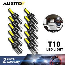 LED T10 194 168 W5W 194 2825 Canbus Error Free Interior Lights Bulbs 6000K White