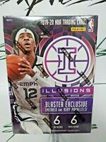 2019-20 NBA Panini Illusions Basketball Blaster Box Factory Sealed Free Shipping