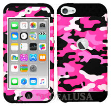 For Apple iPod Touch iTouch 5 | 6 - KoolKase Hybrid Cover Case - Camo Hot Pink