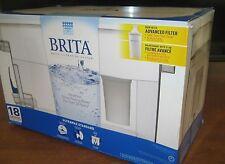 Brita 18 Cup Ultramax Water Filtration Dispenser, (White)