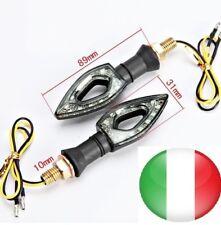 SET 2x FRECCE LED UNIVERSALE INDICATORI DI DIREZIONE MOTO 11LED, 2 PEZZI.