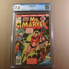 "Ms. Marvel #1 - 1st Carol Danvers ""captain"" marvel 1st Destructor CGC 7.5 OW/W"