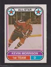 1975-76  OPC O PEE CHEE WHA  # 63  KEVIN MORRISON  AS NRMT-MT   INV 7566
