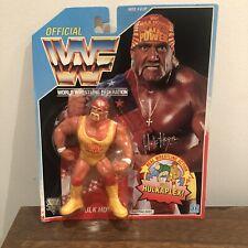 WWF/WWE Hulk Hogan Vintage Hasbro Figura De Acción 1992 serie 3 MOC