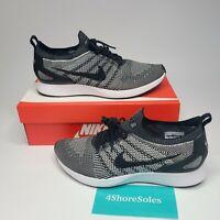 Nike Mens SIZE 10 Air Zoom Mariah Flyknit Racer Oreo Running Shoe 918264-015 NIB