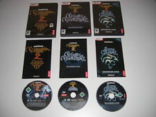 NEVERWINTER NIGHTS 2 + maschera di IL TRADITORE & Tempesta di zehir Add-On PC DVD ROM