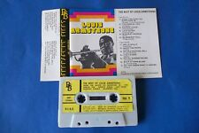 "LOUIS ARMSTRONG ""THE BEST OF LOUIS ARMSTRONG"" MC TAPE K7 NUOVA NON SIGILLATA"
