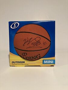 Dirk Nowitzki Dallas Mavericks Signed Mini Basketball Autographed Auto Ball