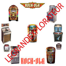 Rock-Ola Jukebox Owner Repair Service Manual & schematics 300 PDF manuals on DVD